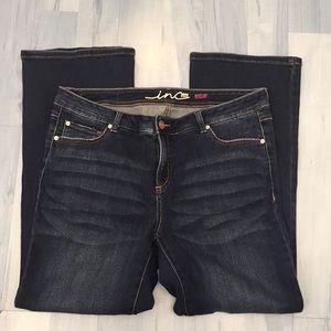 INC Denim Woman Boot Leg Slim Tech Jeans Sz 16 16W